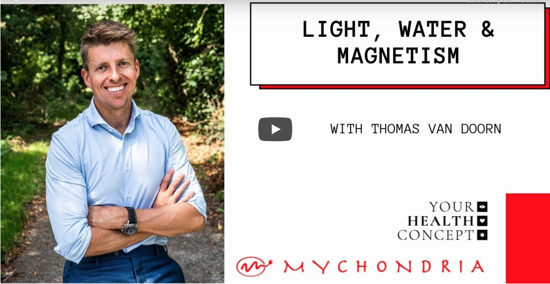 Interview Thomas van Doorn light, water, magnetism by Mychondria